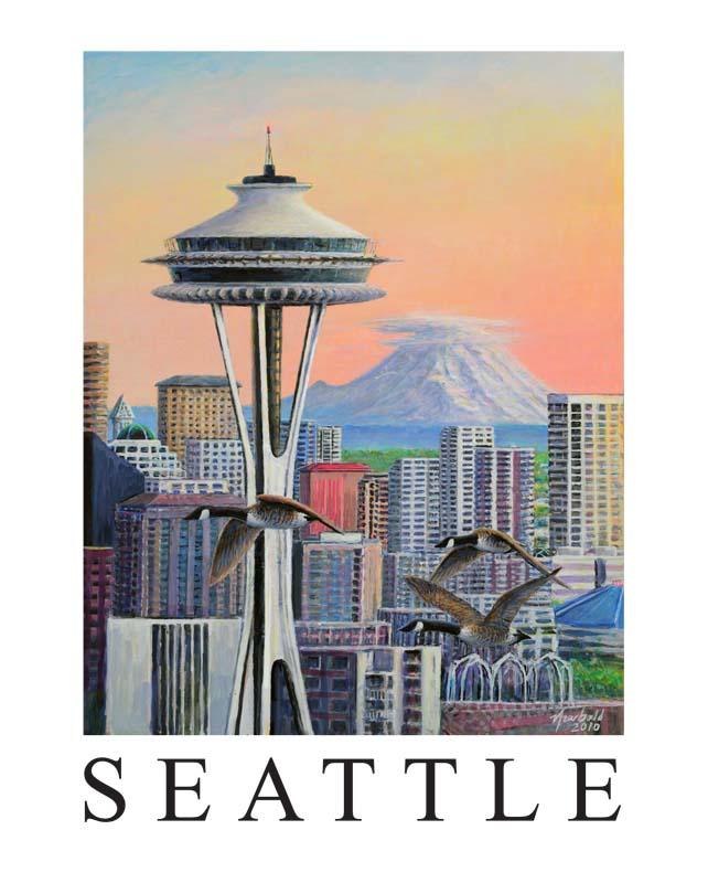 Ed Newbold 103 Seattle Space Needle
