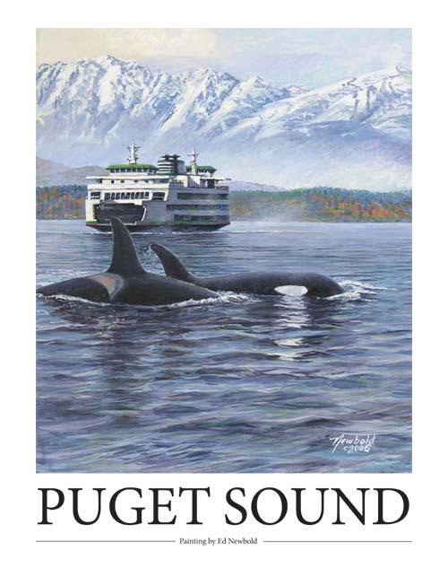 #241 Puget Sound 14 x 18