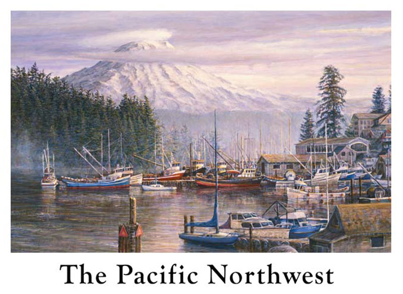 #195 The Pacific Northwest 12 x 16
