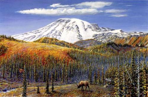 #75 Rainier (with Elk)