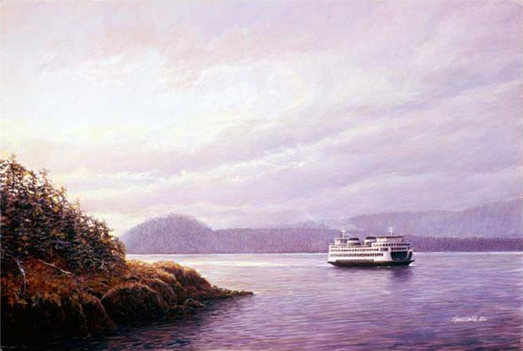#77 Ferry off Lopez