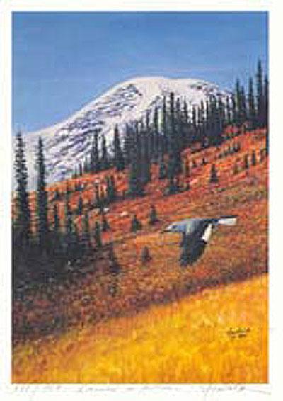 #158 Rainier in Autumn