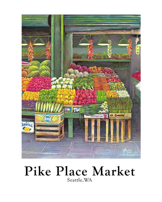 #96 Pike Place Corner Vegetables