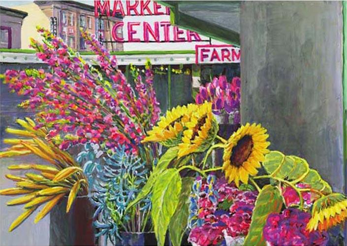 #98 Market Sunflowers