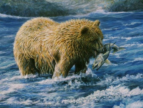 #222 Brown Bear