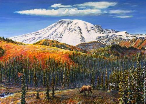 #200 Rainier (with Elk)