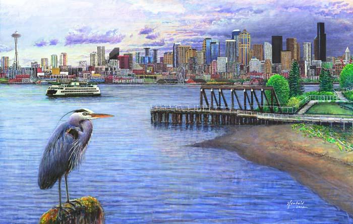 #199 Seattle from Jack Block