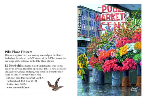 NC Series 2 # 1 Pike Place Flowers