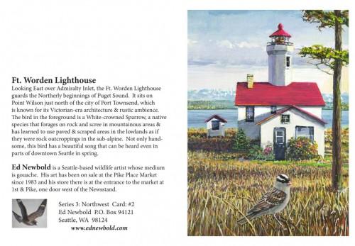 NC Series 3 #2 Ft. Worden Lighthouse