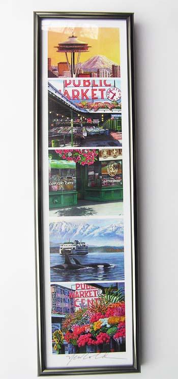 #283 Frame for a horizontal skinny (no mat, no skinny)