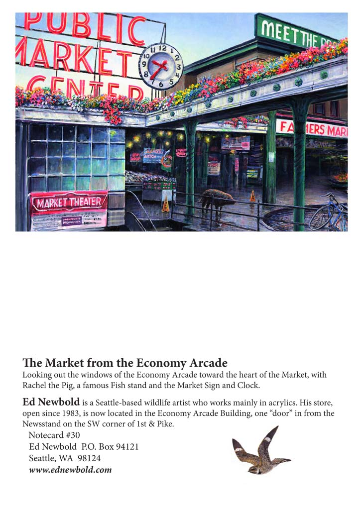 NC #30 Pike Place Market from the Economy Arcade