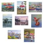 Series 7 Box of 8 Notecards Holiday