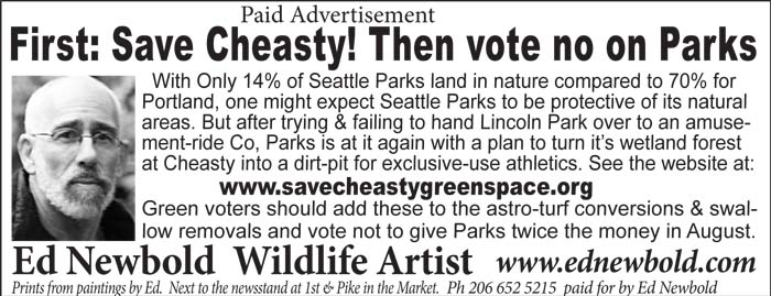 Seattle Times ad cheasty for Sunday June 8 2014