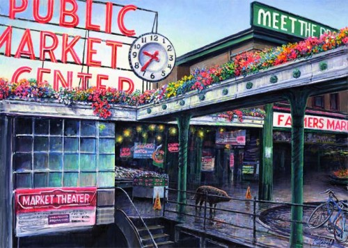#269 Pike Place Market 18 x 24 (Horizontal)
