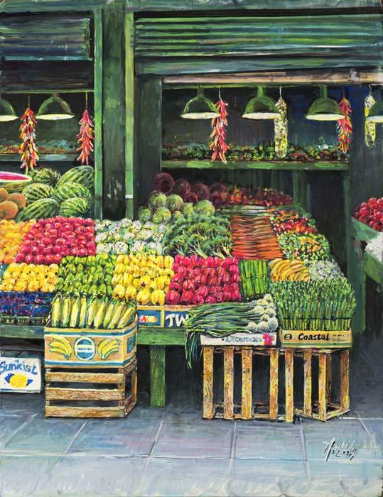 Corner Vegetables