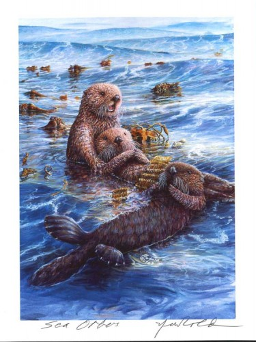 #18 Sea Otters