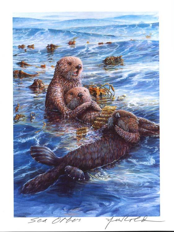 #18 Sea Otters