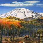#439 Winter Goldeneyes, Poulsbo (12 x 16)